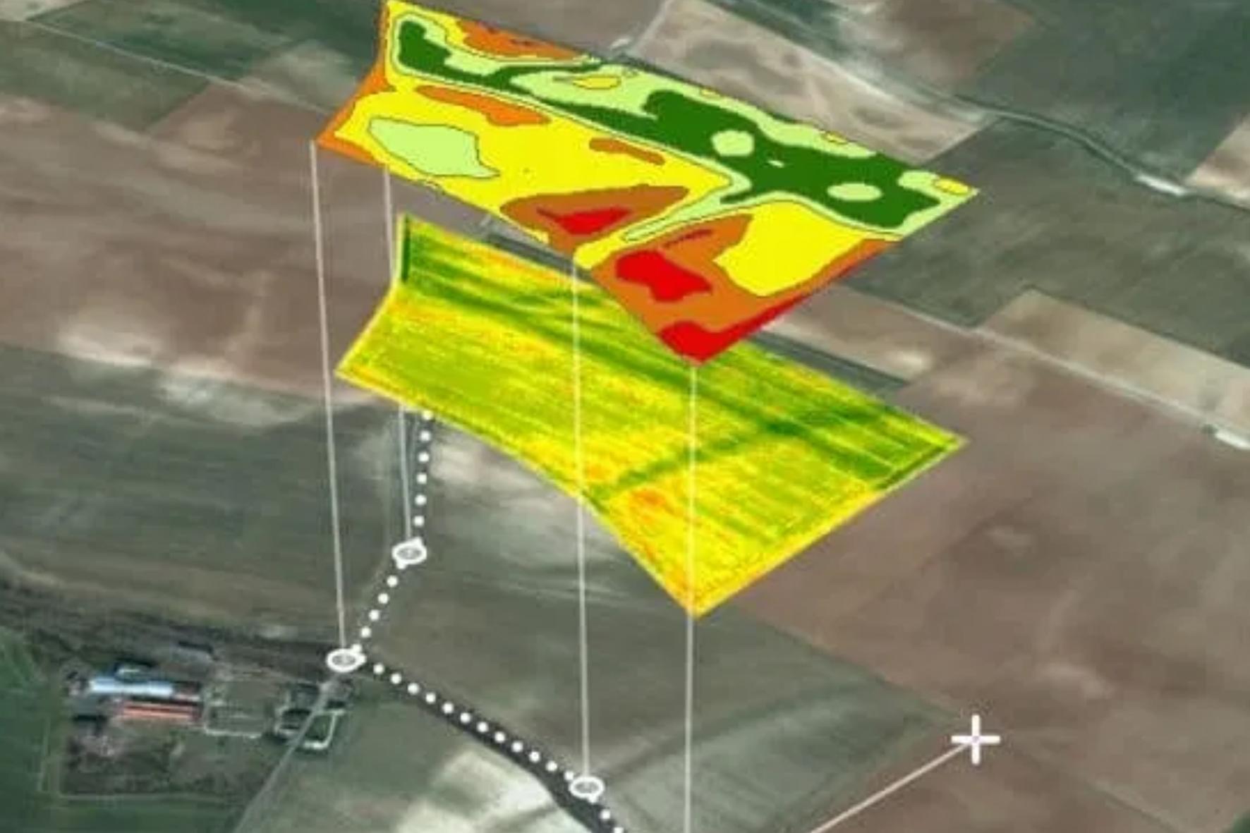 multispecral par drone